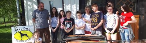 Razvoj školskog volontiranja uspostavom mreže Volonterskih klubova Crvenog križa